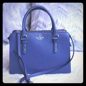 Kate Spade Satchel Blue NWOT